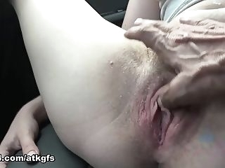 fingering You Take Niki To See Some Sights And She Can't Stop Flashing - ATKGirlfriends hairy outdoor