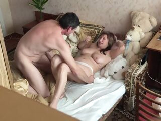amateur Sucked, licked, fucked well and cum my tummy big tits cunnilingus