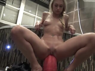 amateur Inserting Goliath 3th attempt *** Girls4cock Com anal blonde